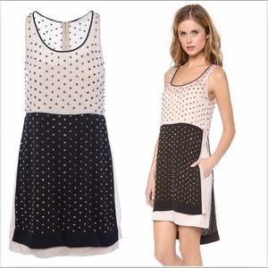 DVF Crystal Abrielle Studded Dress. NWT $1295